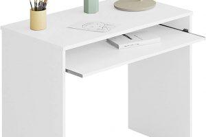 Mesa escritorio con soporte teclado extraíble Habitdesign IJoy