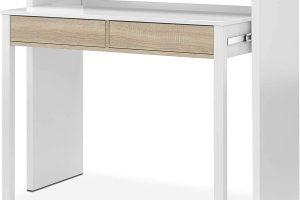 Mesa escritorio extensible con consola Bureau