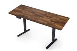 Mesa regulable en altura Flexispot E5B con encimera del Ikea